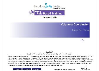 Role Based Training